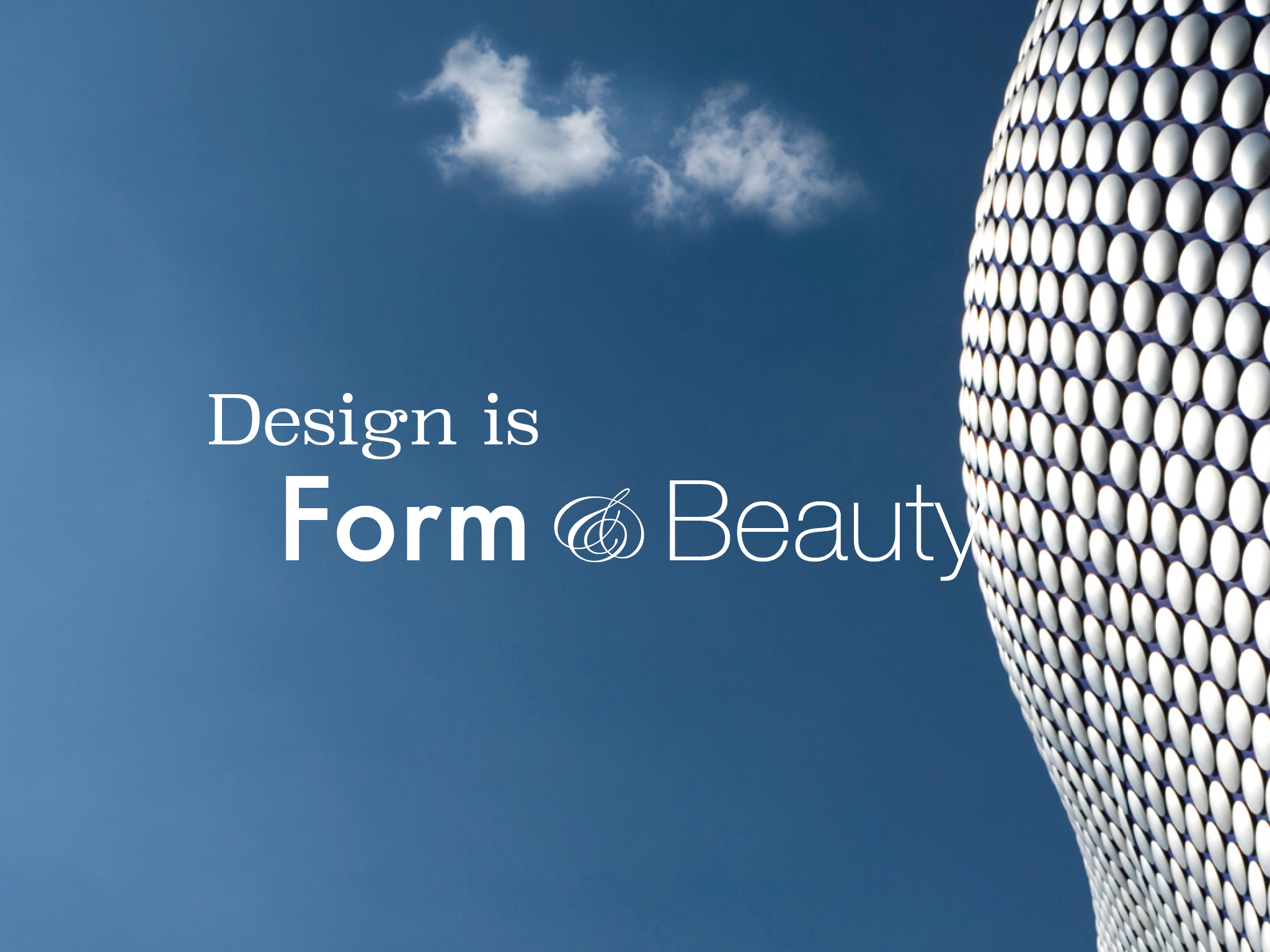 Design is form and beauty6